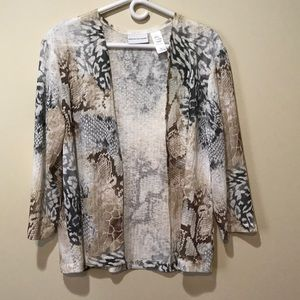 Alfred Dunner cover blouse. Size small.